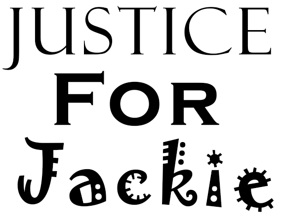 Justice For Jackie, Crafts & Tools, Donations and Christmas Crafts